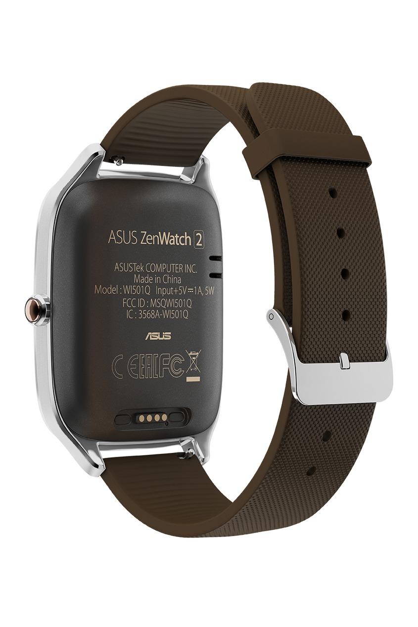 Фото - Часы ASUS ZenWatch 2 коричневого цвета