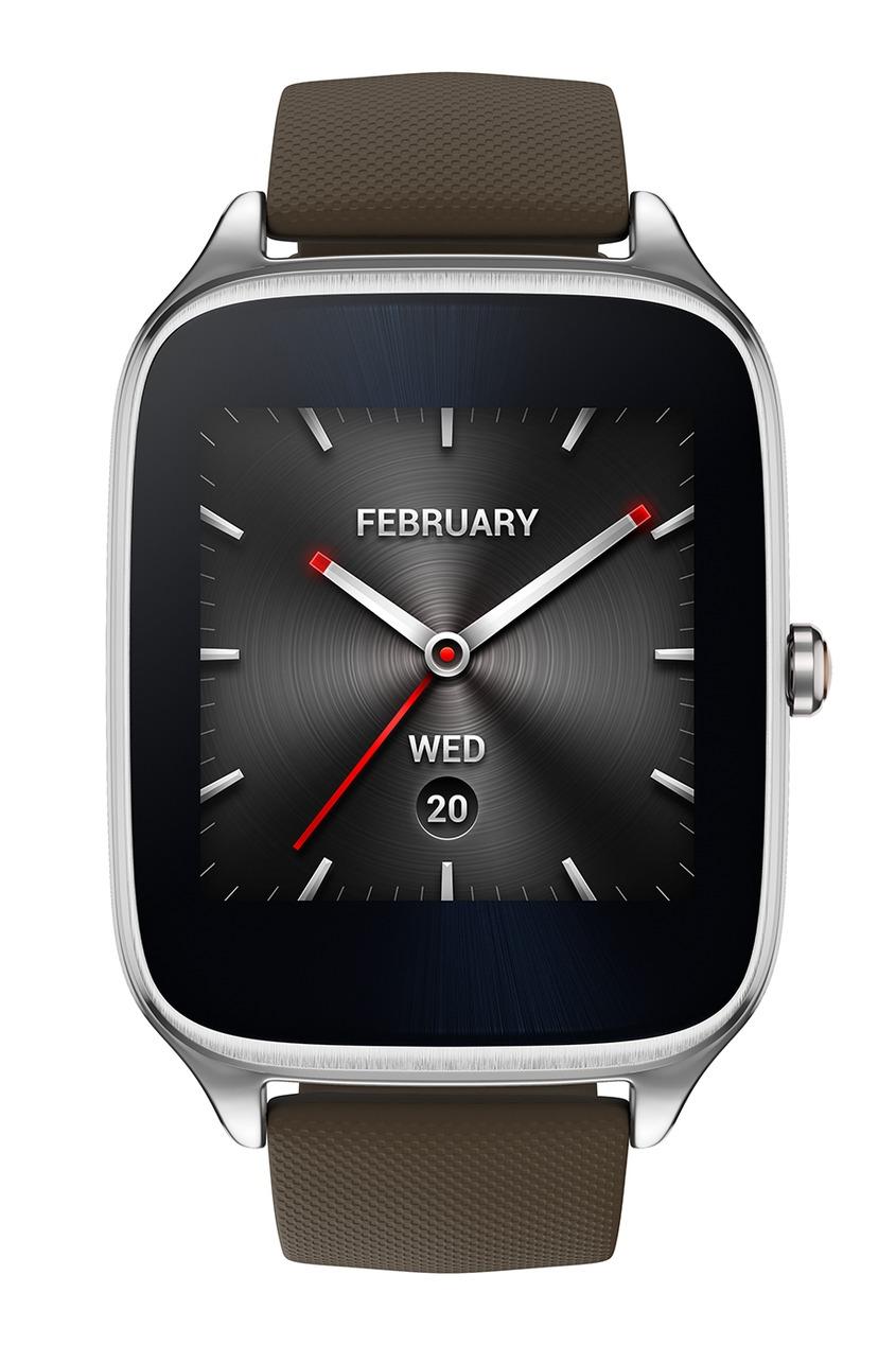 Фото 2 - Часы ASUS ZenWatch 2 коричневого цвета