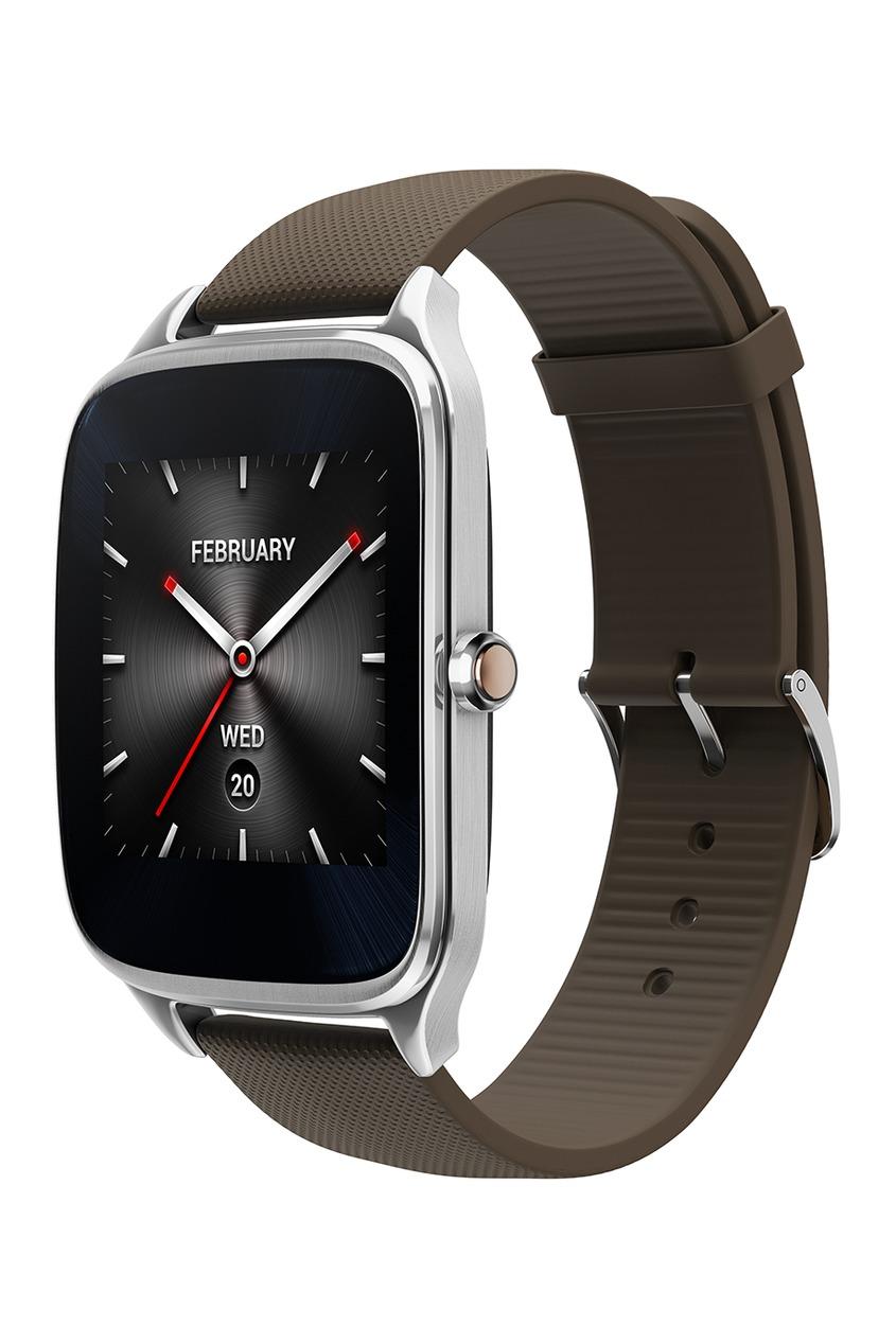 Фото 3 - Часы ASUS ZenWatch 2 коричневого цвета