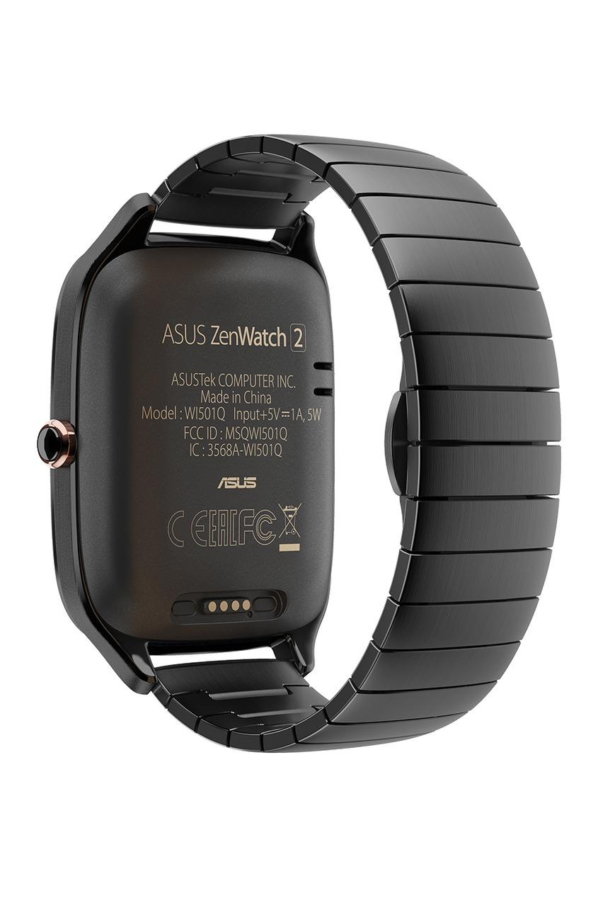 Фото - Часы ASUS ZenWatch 2 серого цвета