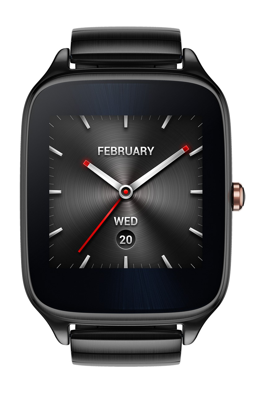 Фото 2 - Часы ASUS ZenWatch 2 серого цвета