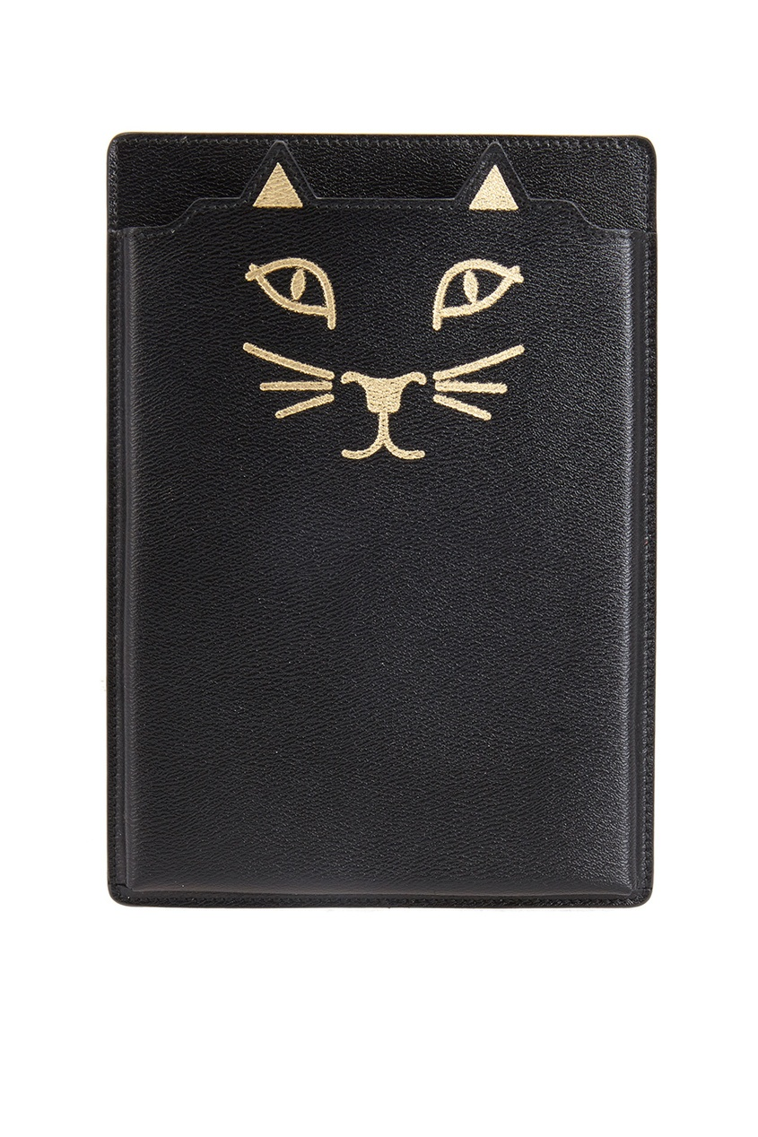 Charlotte Olympia Кожаный чехол для iPad Feline iPad Mini olympia le tan джинсовые брюки