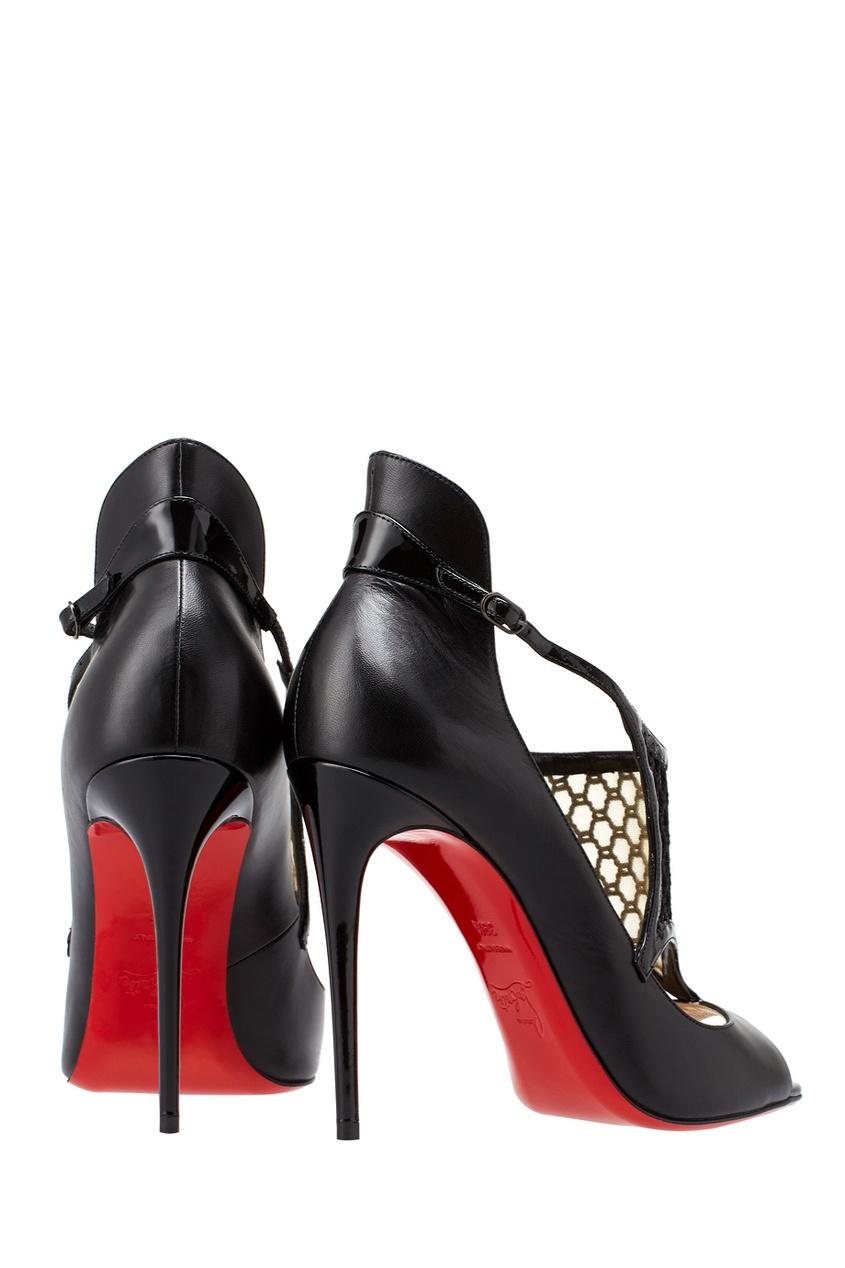 Кожаные туфли Mosaika 100