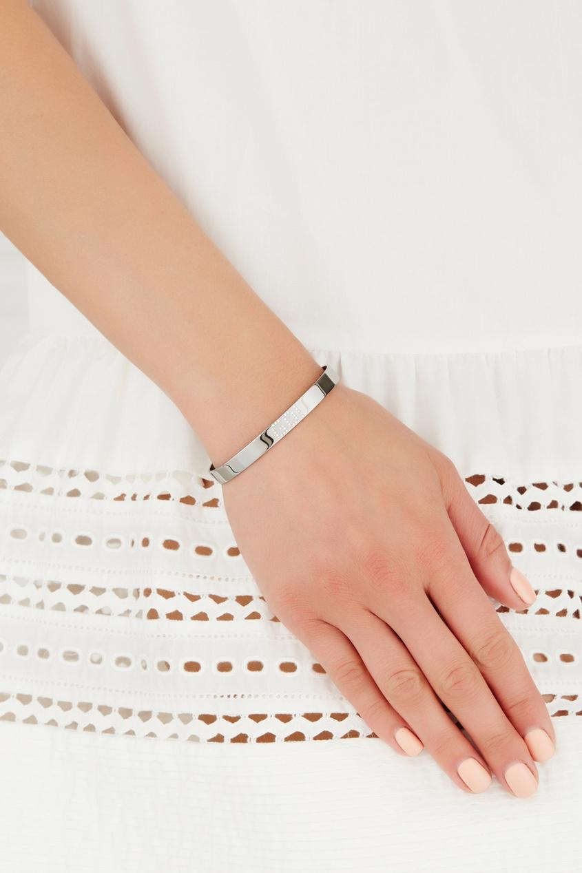 Фото - Серебряный браслет с фианитами Go! серебрянного цвета