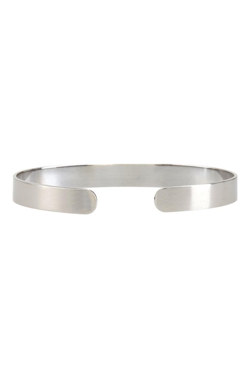 Фото 4 - Серебряный браслет с фианитами Go! серебрянного цвета