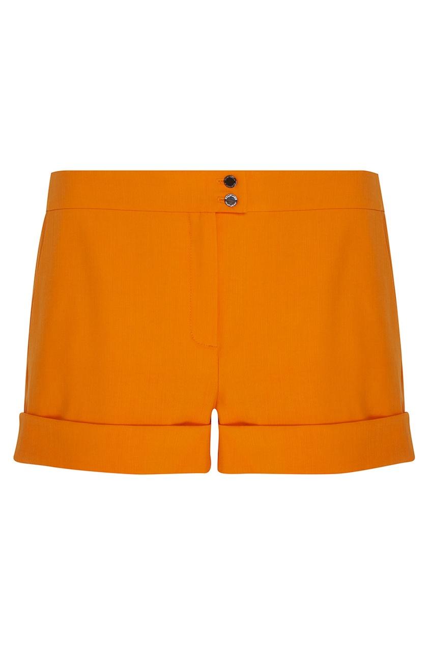 Фото 5 - Однотонные шорты от Chapurin оранжевого цвета
