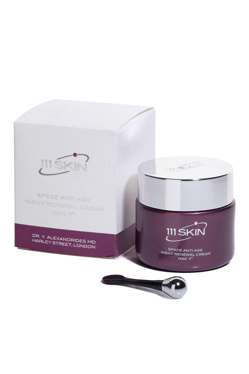 Ночной омолаживающий крем для лица Space Anti Age Night Renewal Cream NAC Y2, 50мл