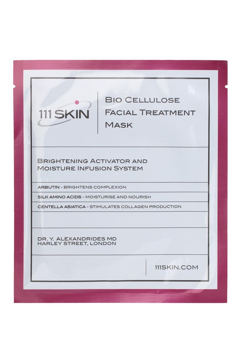 111 Skin Биоцеллюлозная маска для лица Bio Cellulose Treatment Mask, 5шт