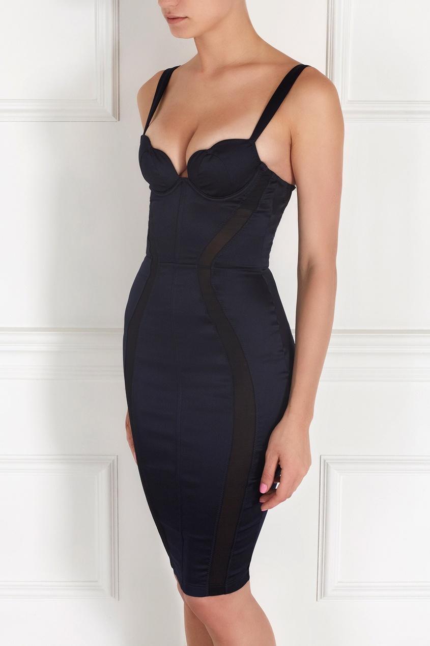 Фото 2 - Платье Brandi черного цвета