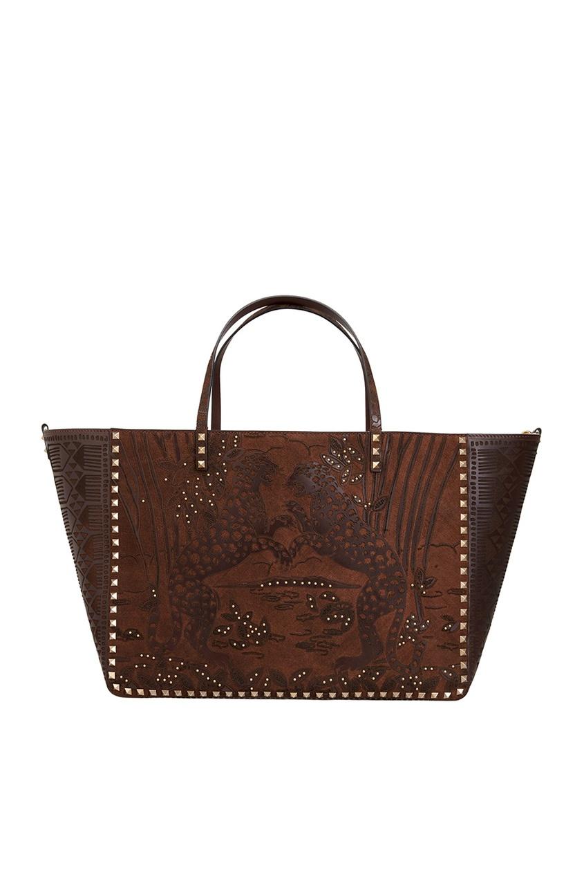 Valentino Двухсторонняя кожаная сумка