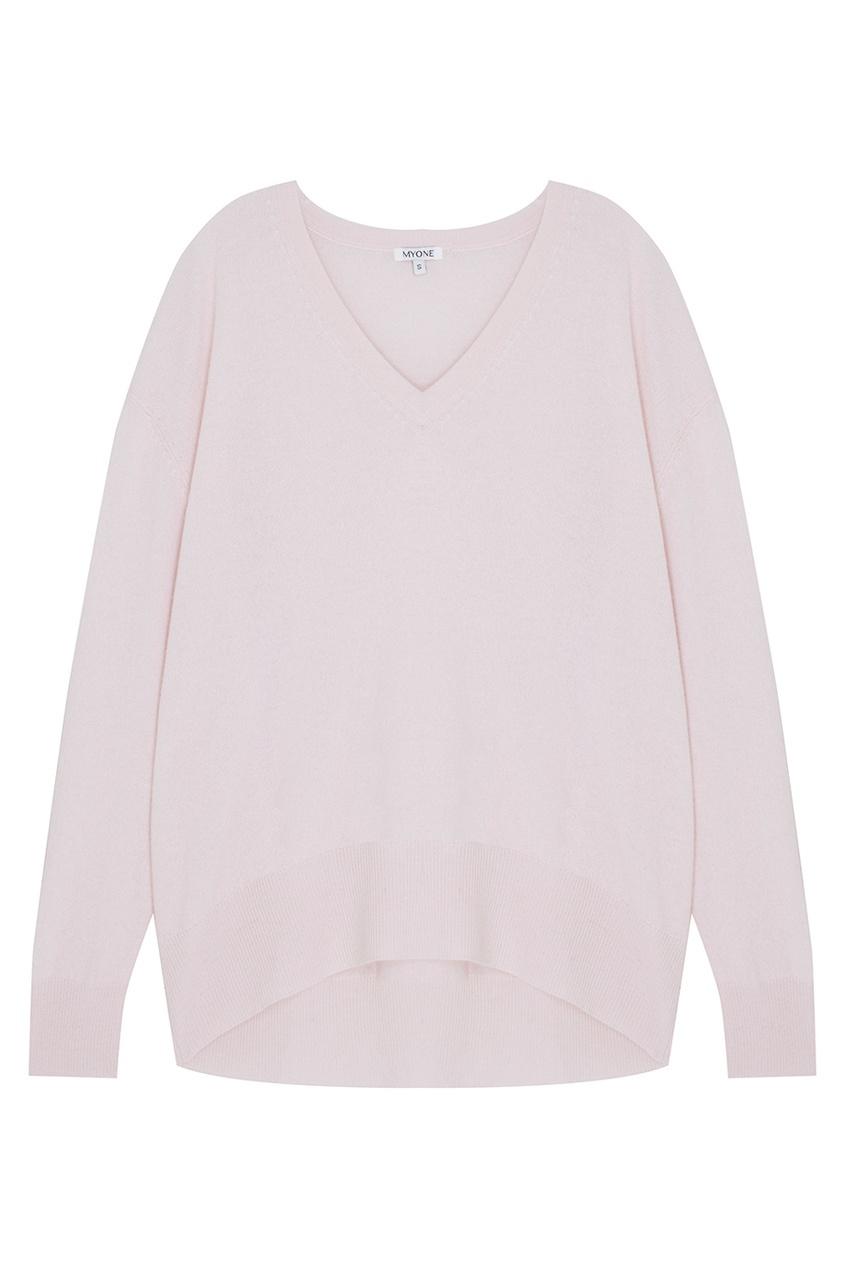 MYONE Кашемировый пуловер myone пуловер из шелка и хлопка