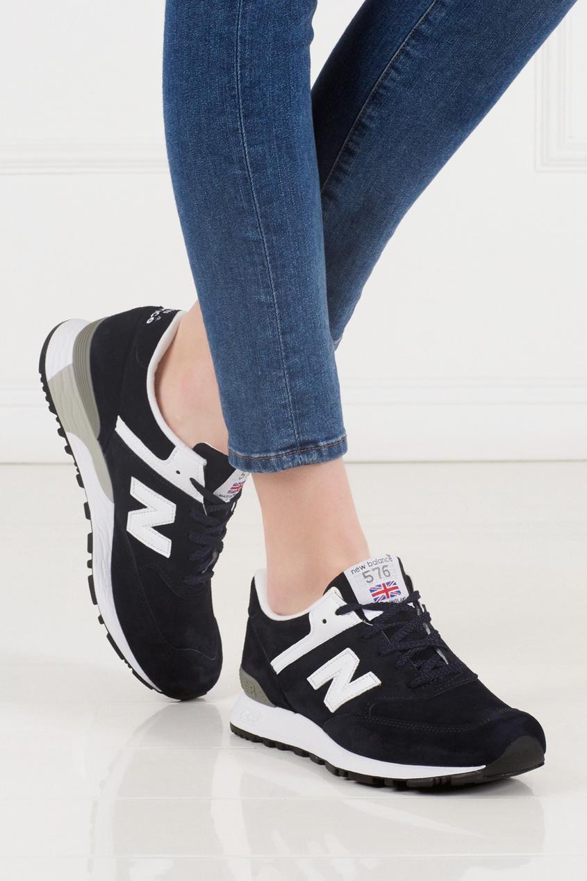 New Balance Замшевые кроссовки 576