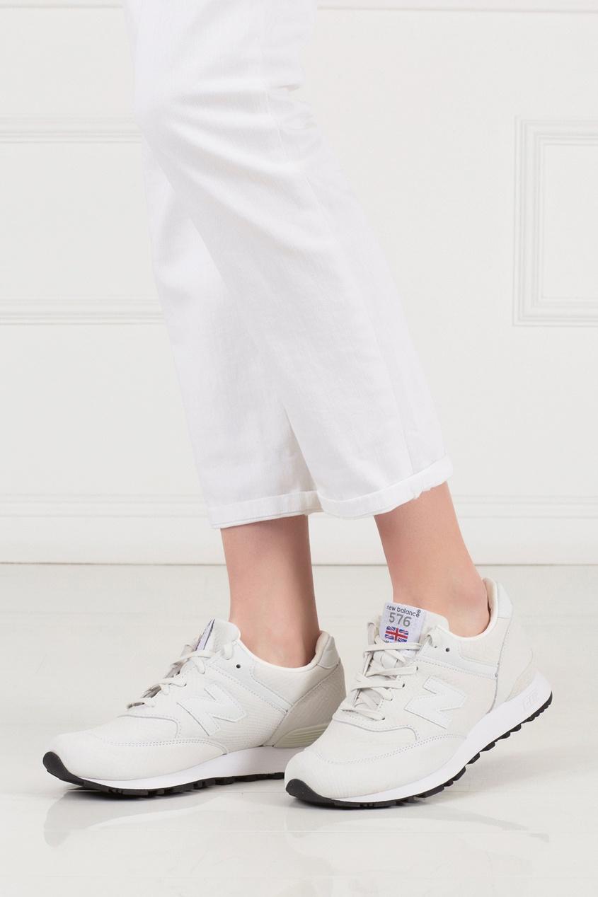 Кожаные кроссовки 576