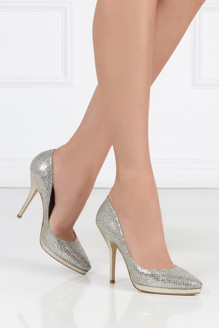 Туфли с глиттером Laurie