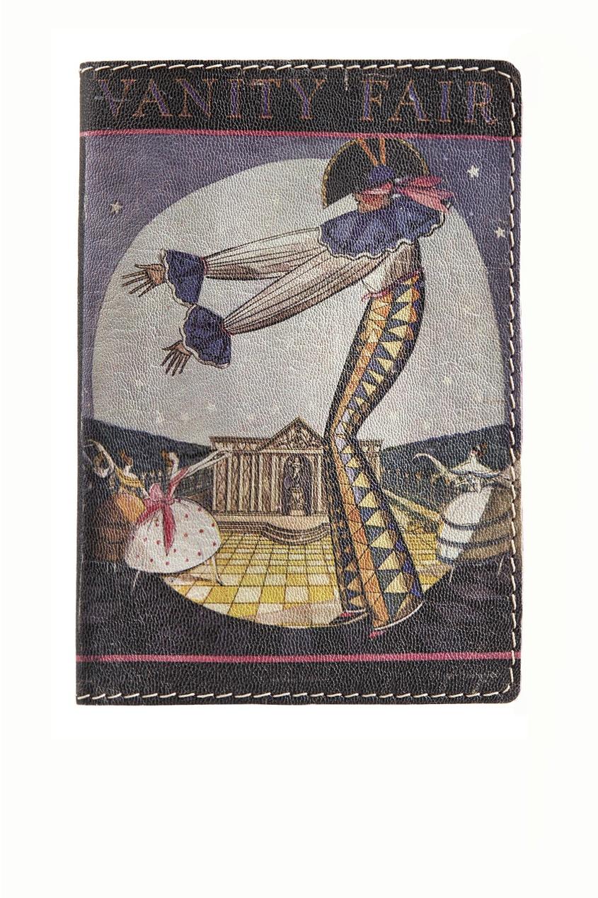 Кожаная обложка для паспорта Vanity Fair