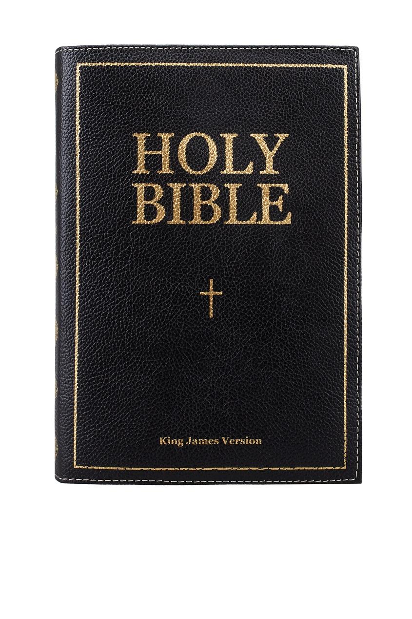 Кожаный клатч «Holy Bible»