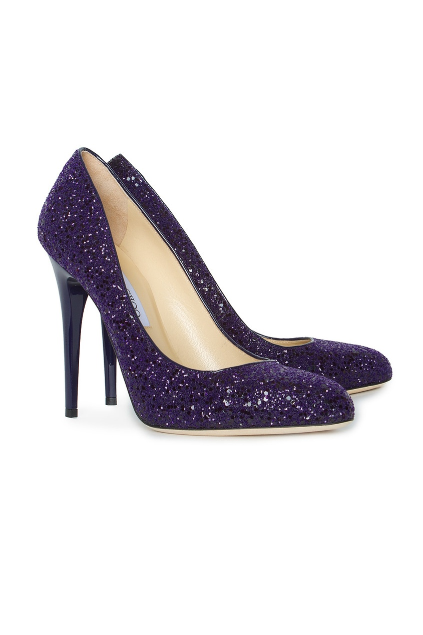 Фиолетовые туфли Victoria Jimmy Choo