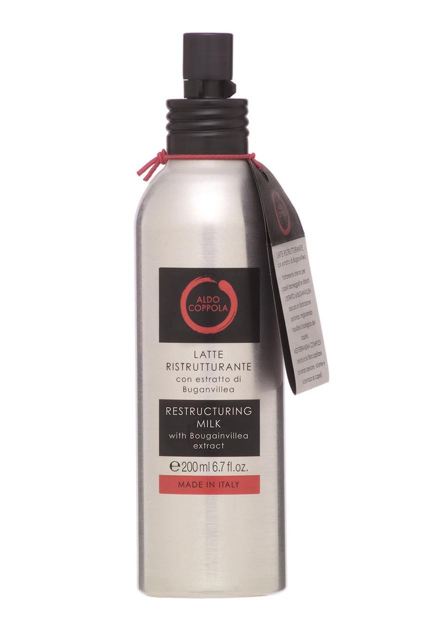 Aldo Coppola Молочко-спрей для волос с экстрактом бугенвиллеи Restructuring Milk, 200ml aldo coppola флюид спрей для блеска волос с экстрактом мальвы polishing lotion 150ml