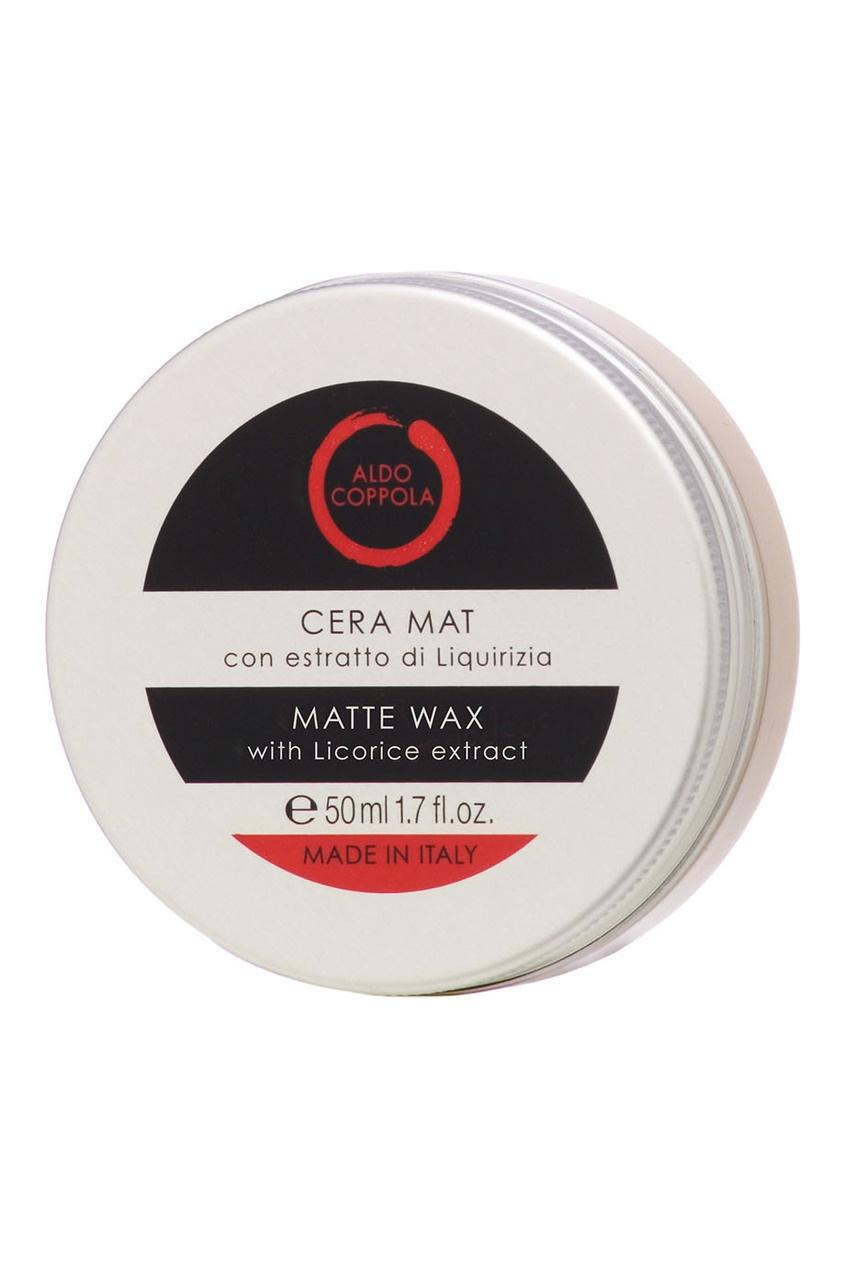 Матирующий воск для волос с экстрактом лакрицы Matte Wax, 50ml