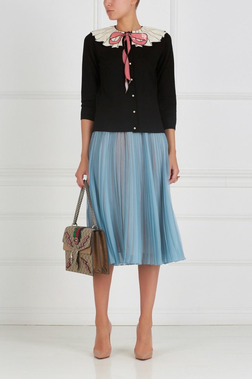 Gucci Шелковая юбка