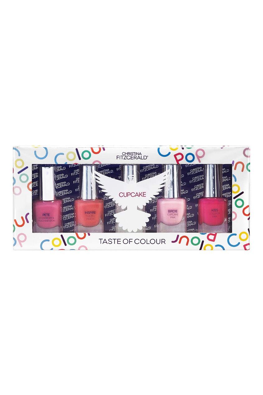 Набор лаков для ногтей Colour Pop «Пирожное», 5x5ml