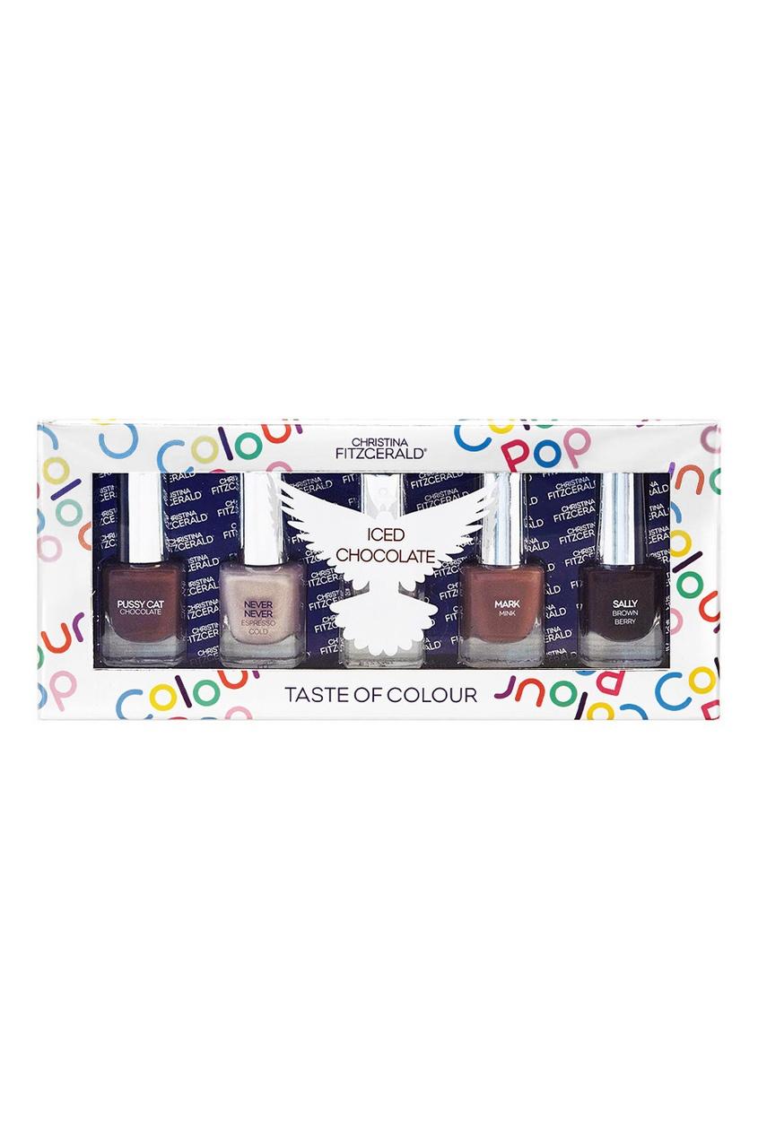 Набор лаков для ногтей Colour Pop «Холодный шоколад», 5x5ml