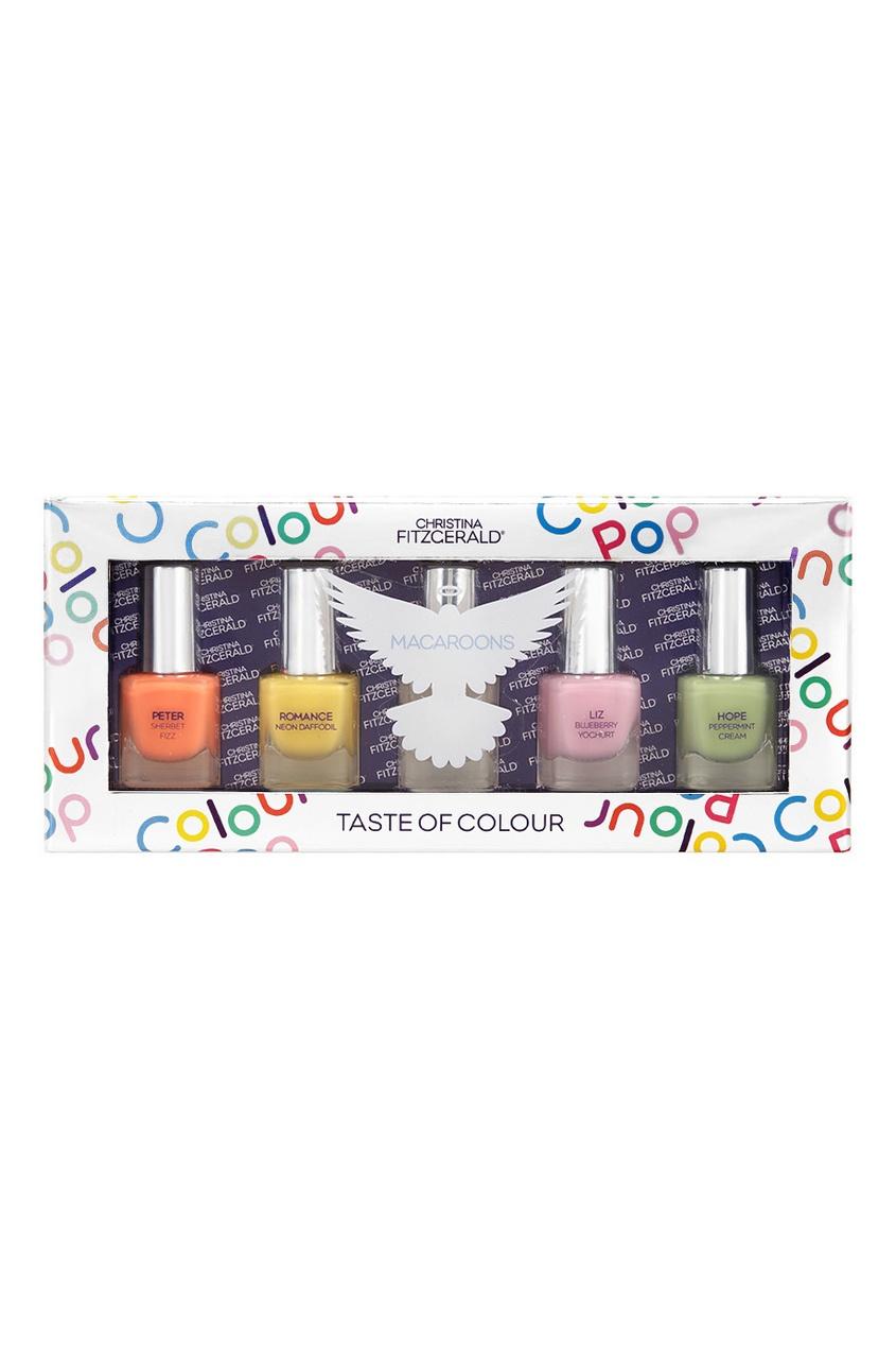 Набор лаков для ногтей Colour Pop «Макарони», 5x5ml