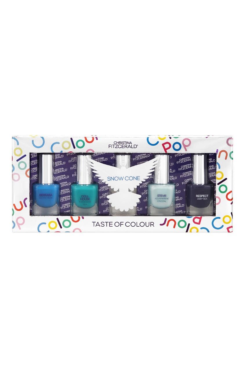 Набор лаков для ногтей Colour Pop «Фруктовый лед», 5x5ml
