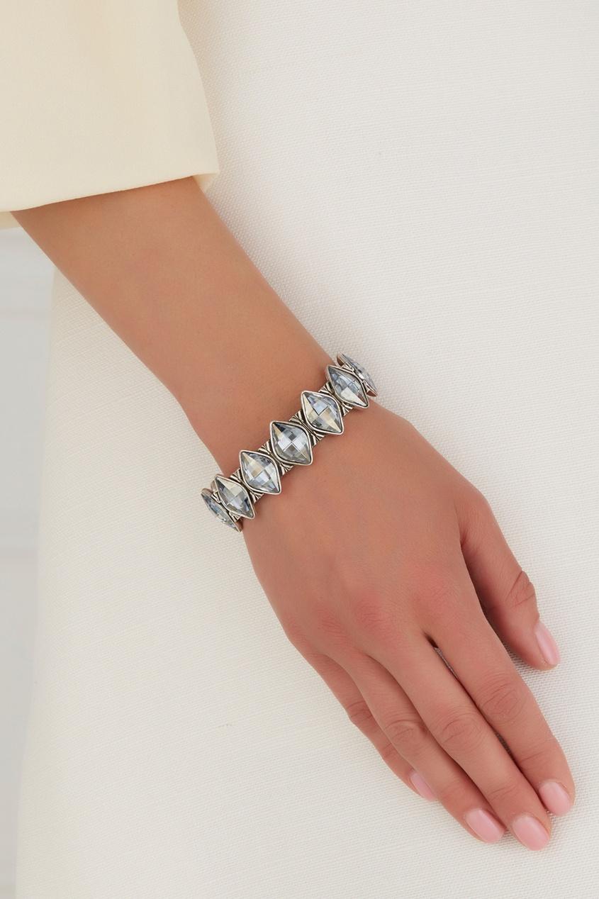 Браслет из латуни с кристаллами Swarovski