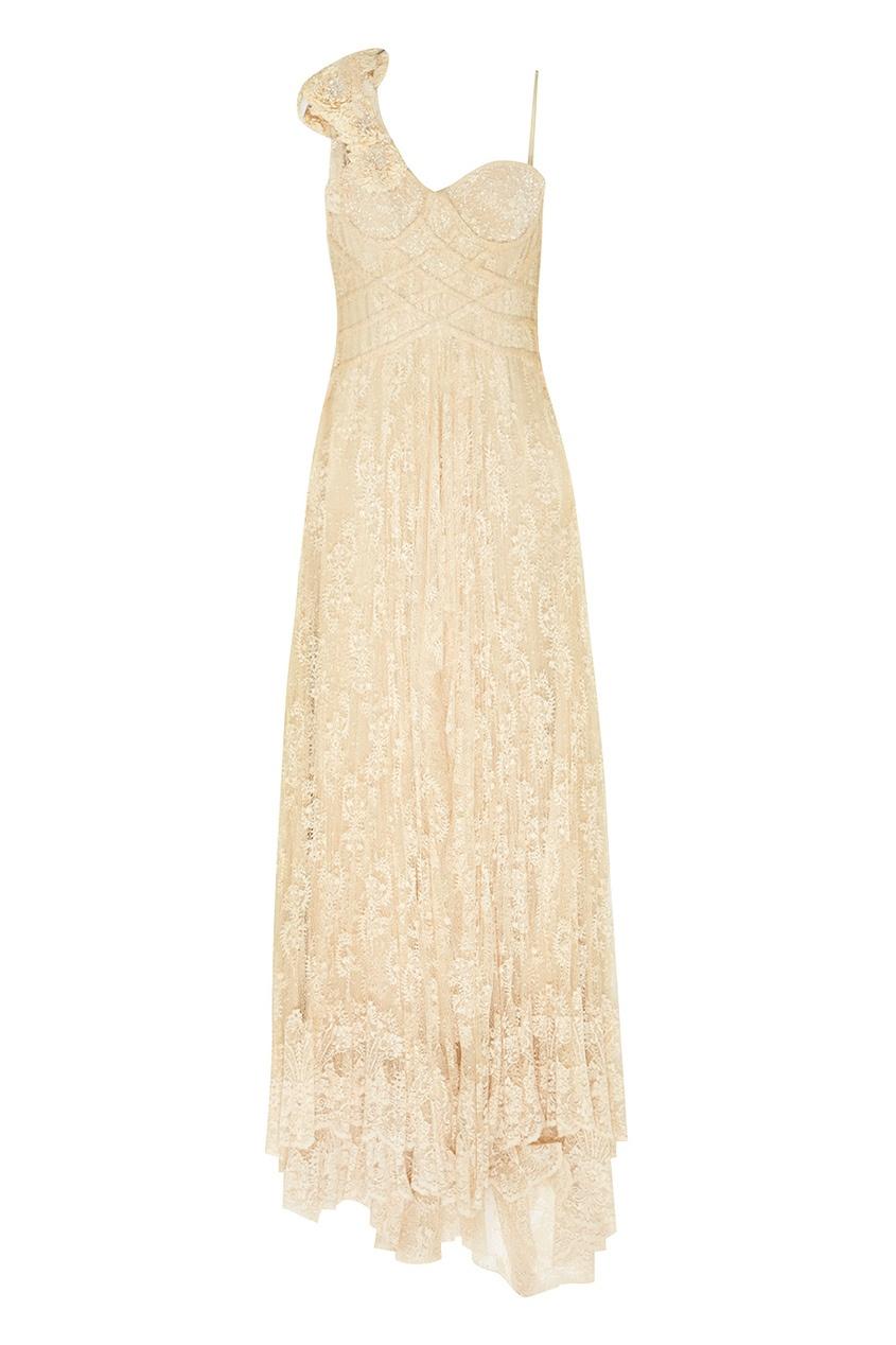 Асимметричное платье «Пион»