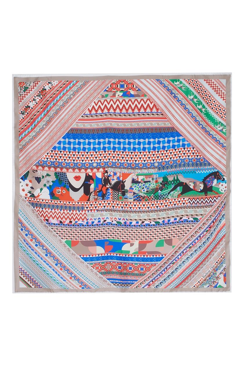 Фото 2 - Шелковый плато «Фаворит» от Radical Chic цвет multicolor