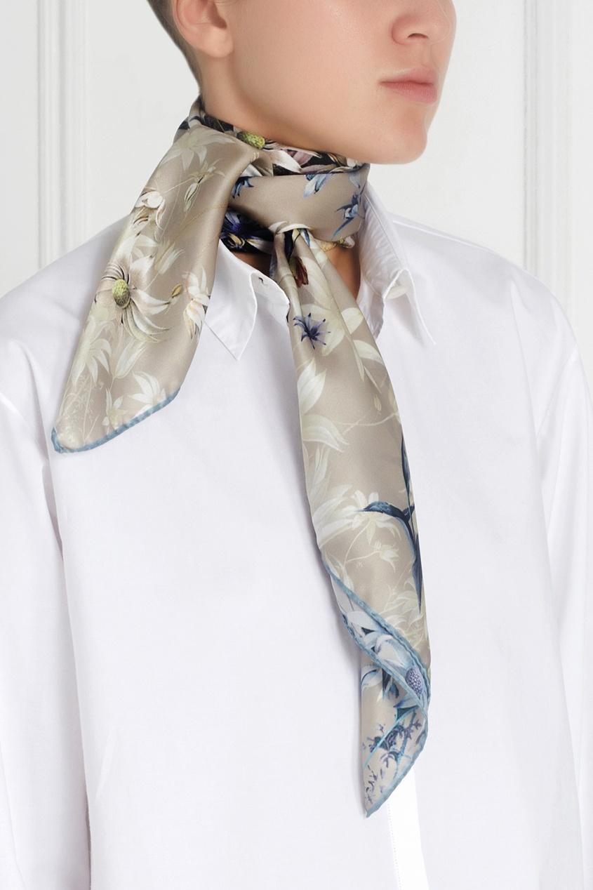 Шелковый платок «Борзые»