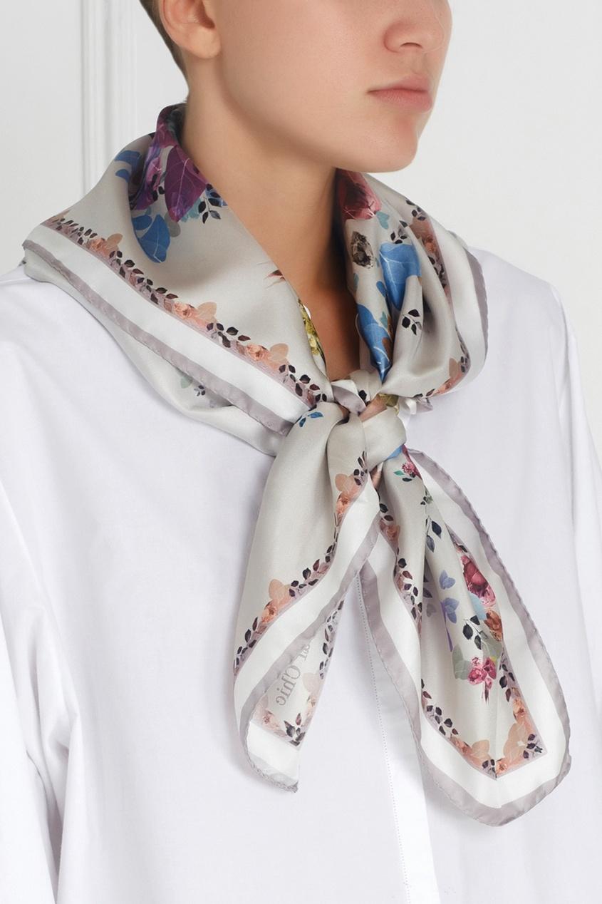 Фото - Шелковый платок «Капри» от Radical Chic цвет multicolor