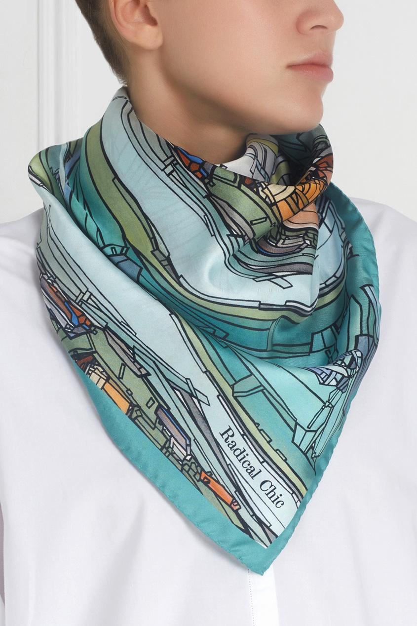 Шелковый платок «Кремлевский»