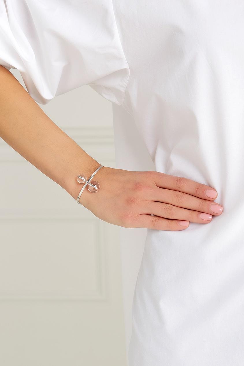 Серебряный браслет с горным хрусталем Origin