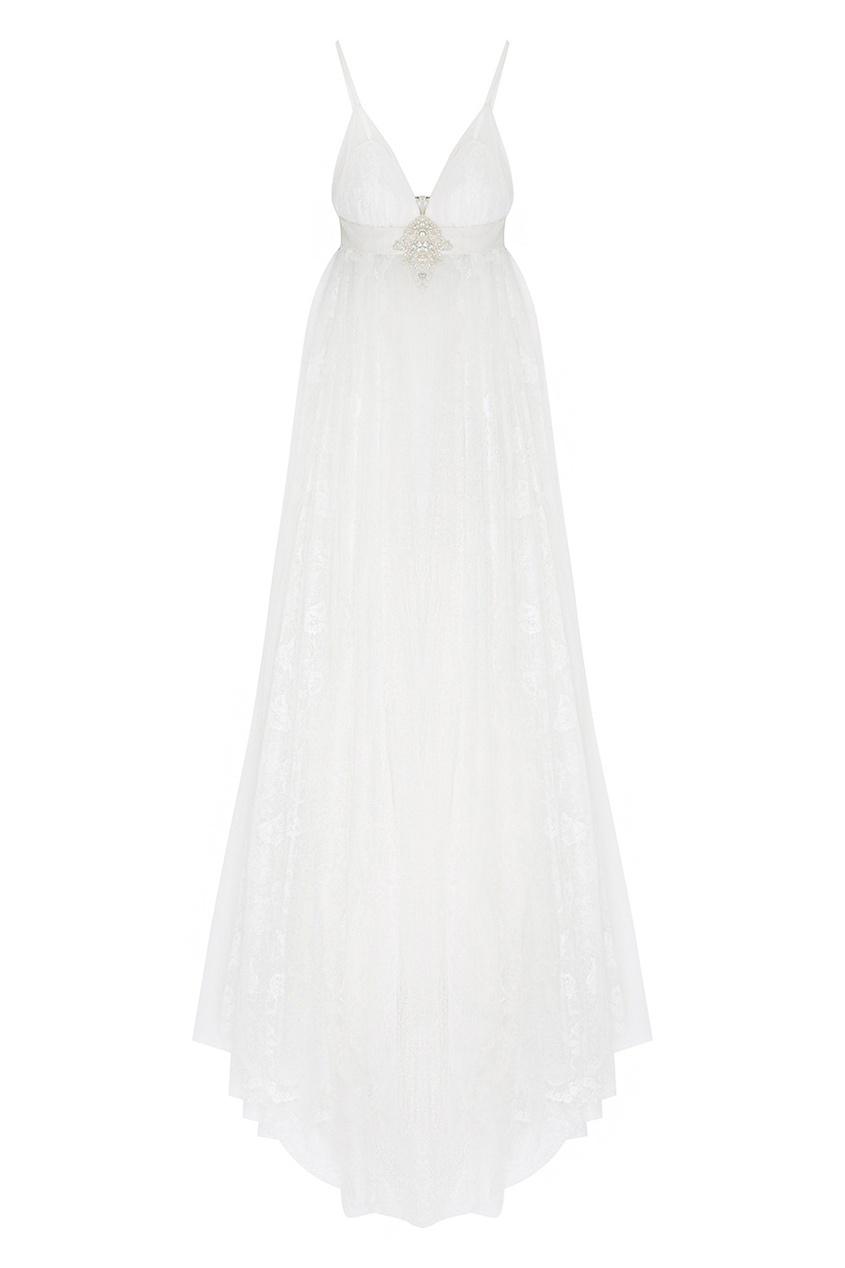 Платье с кристаллами