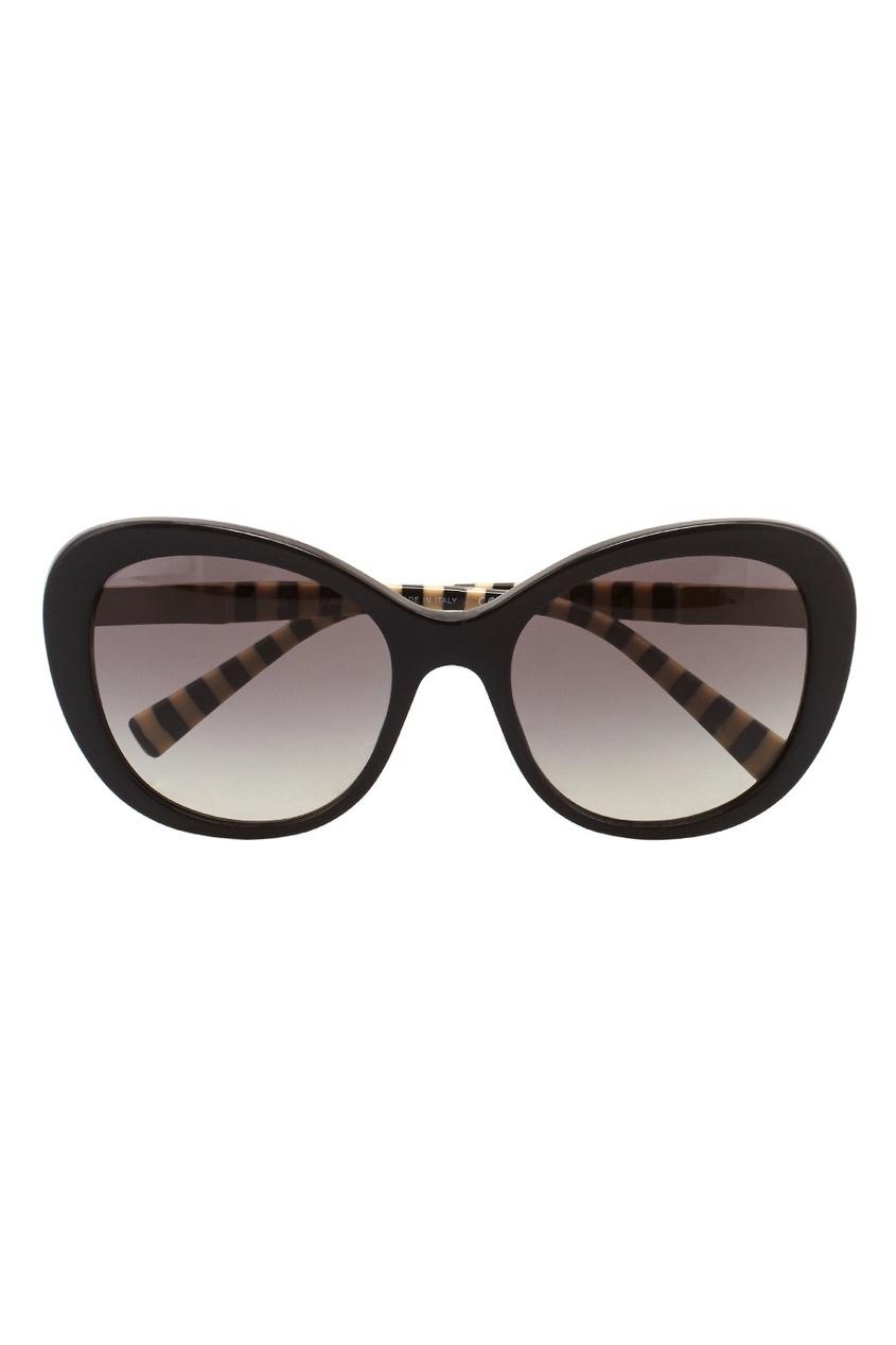 Giorgio Armani Солнцезащитные очки vogue vogel очки черного кадра серебряного покрытия линза мода полной оправе очки vo5067sd w44s6g 56мм
