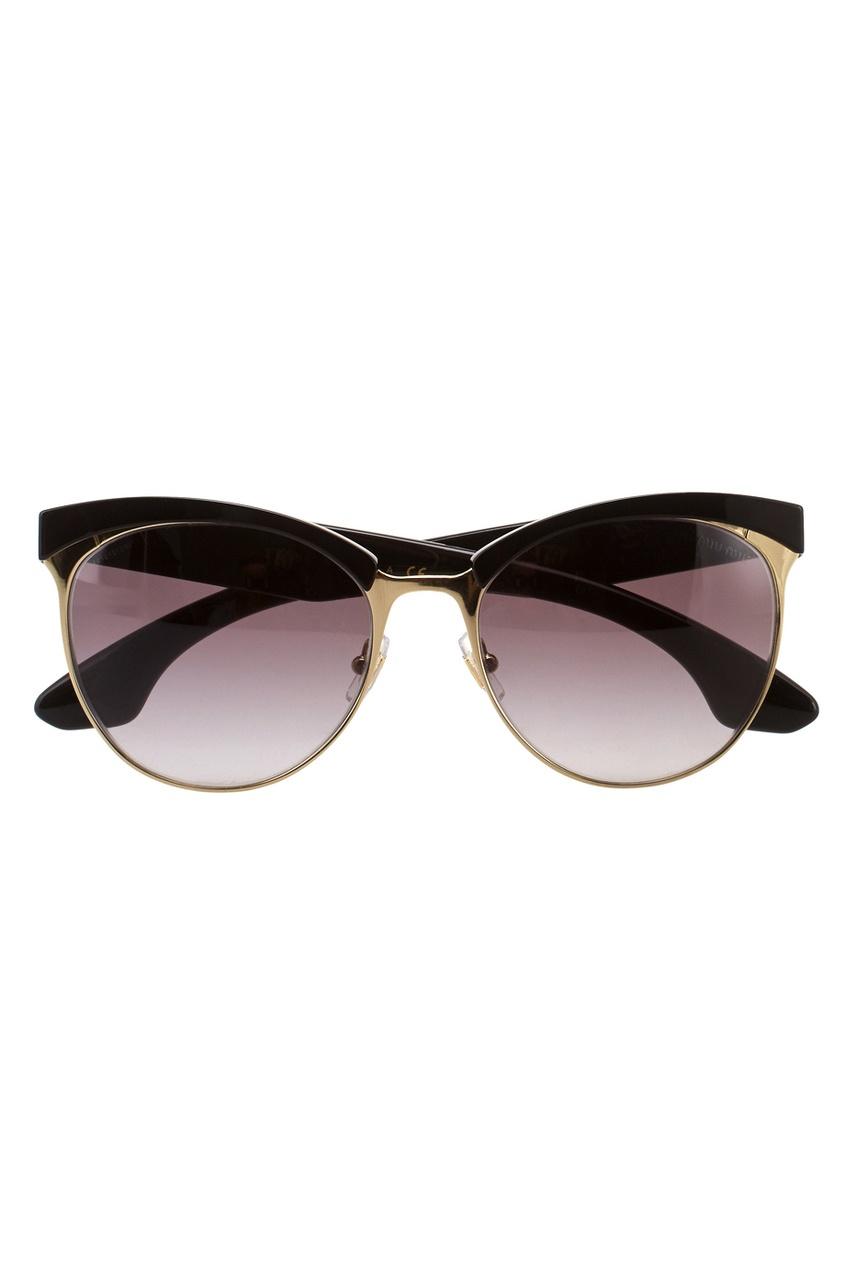 Miu Miu Солнцезащитные очки очки солнцезащитные miu miu miu miu mi007dwzaw95
