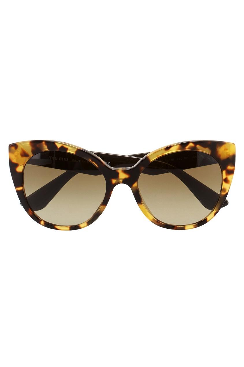 Miu Miu Солнцезащитные очки приколы дебильные очки с изображением глаз купить в новосибирске