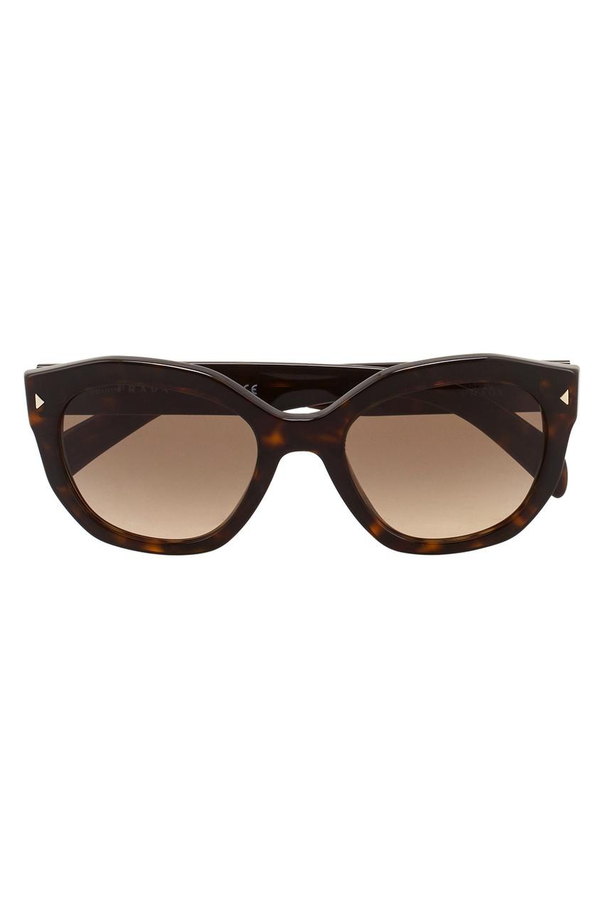Prada Cолнцезащитные очки приколы дебильные очки с изображением глаз купить в новосибирске