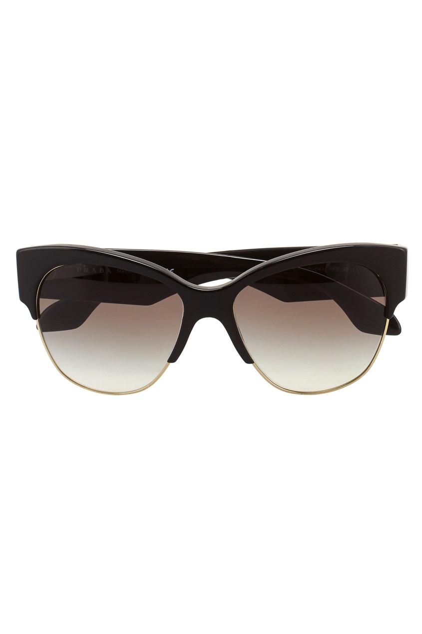 Prada Солнцезащитные очки приколы дебильные очки с изображением глаз купить в новосибирске