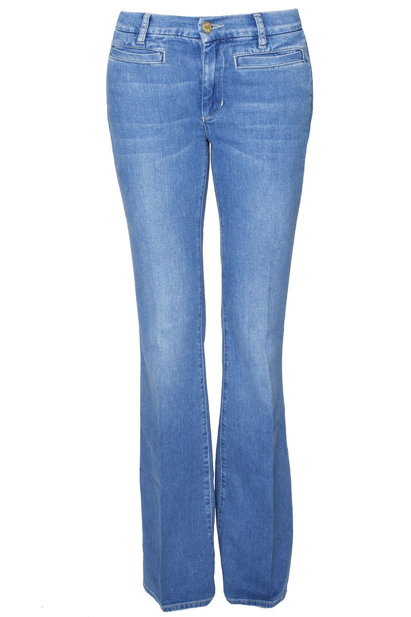 Голубые джинсы-клеш Marrakesh