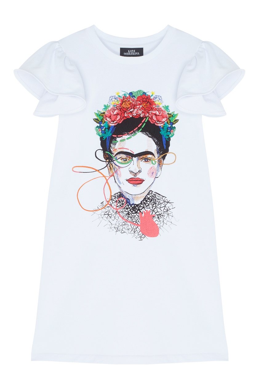 Платье с вышивкой Frida