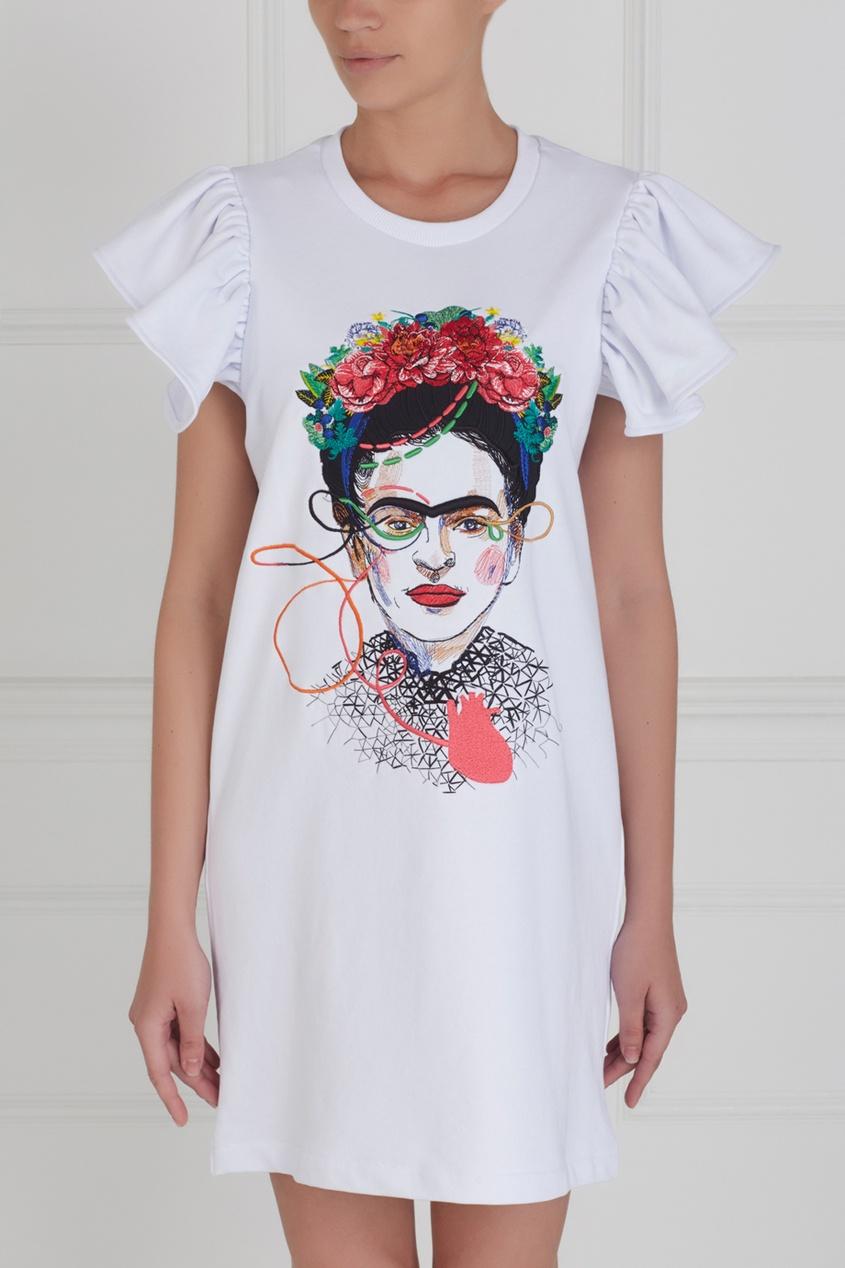 Платье с вышивкой Frida от AIZEL