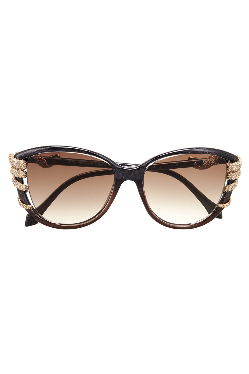 Roberto Cavalli Солнцезащитные очки приколы дебильные очки с изображением глаз купить в новосибирске
