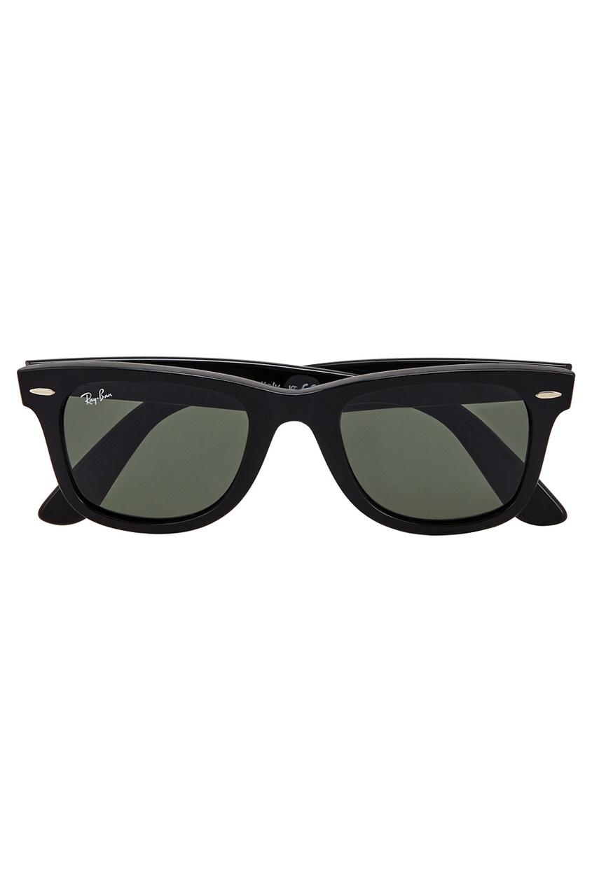 Ray-Ban Солнцезащитные очки vogue vogel очки черного кадра серебряного покрытия линза мода полной оправе очки vo5067sd w44s6g 56мм