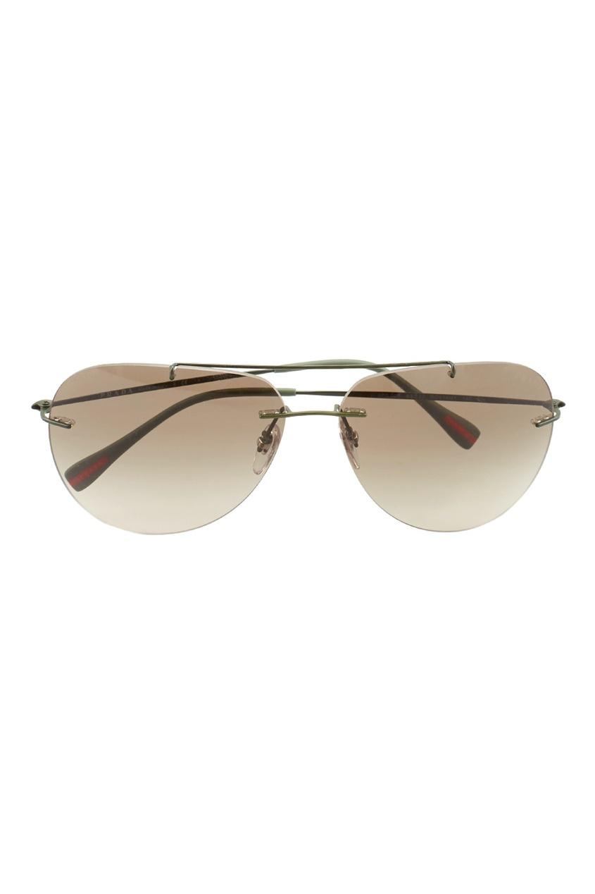 Prada Linea Rossa Солнцезащитные очки prada linea rossa солнцезащитные очки авиаторы