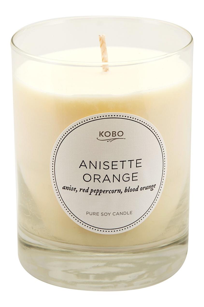 Kobo Candles Ароматическая свеча Anisette Orange, 312гр.