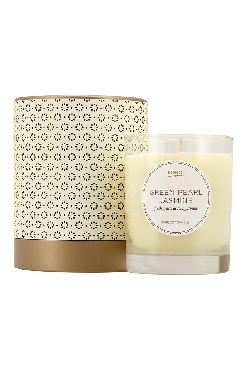 Ароматическая свеча Green Pearl Jasmine, 312гр.