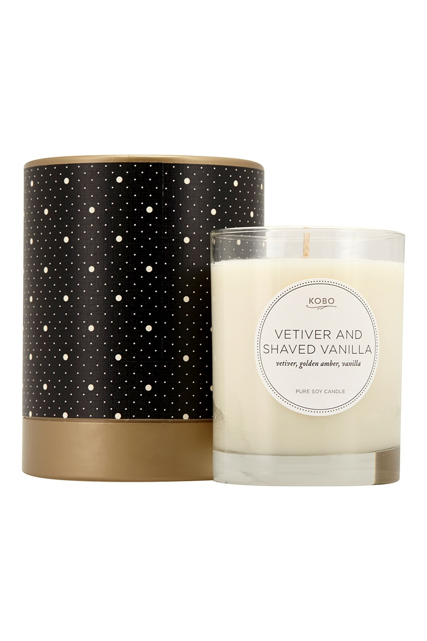 Ароматическая свеча Vetiver And Shaved Vanilla, 312гр.